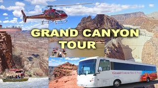 /grand canyon tour skywalk guano point hoover dam helicopter and boat trip 4k