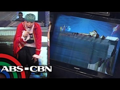 Vice Ganda breaks TV screen on It's Showtime