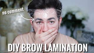 So I Just RUINED my Brows.... DIY Brow Lamination