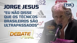 """""""EU NÃO DISSE QUE OS TÉCNICOS BRASILEIROS SÃO ULTRAPASSADOS"""" , diz Jesus sobre entrevista polêmica"""