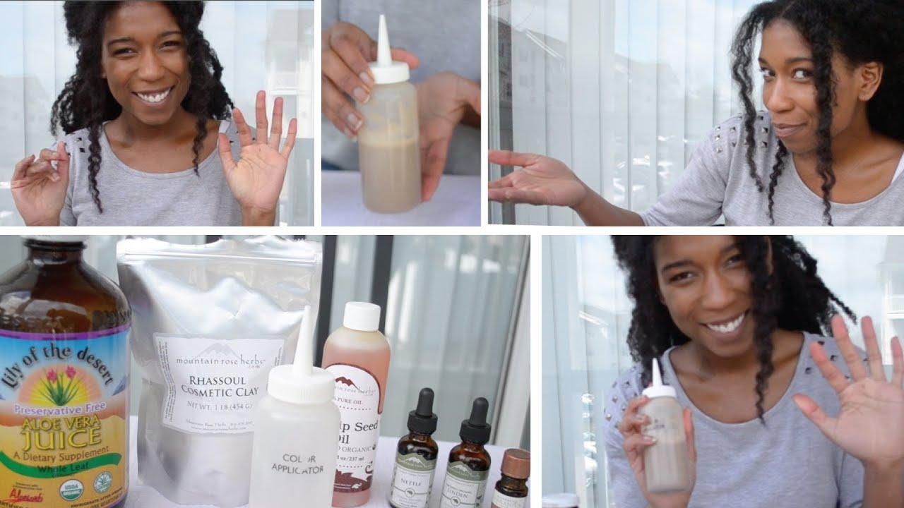 Bentonite Clay Shampoo Natural Hair