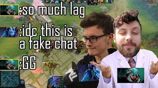 LAGGING VS MIRACLE   KA LE GAME