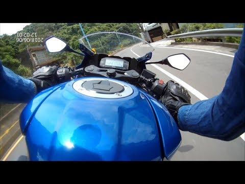 2018/6/6 Gsx-R150 in 萬壽路 峠 with SJ7