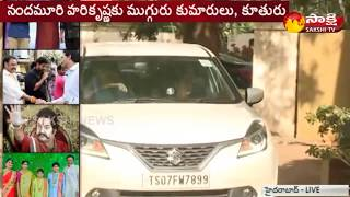 Nandamuri Harikrishna Dies in Road Mishap | Sakshi Live Updates From His House - Watch Exclusive