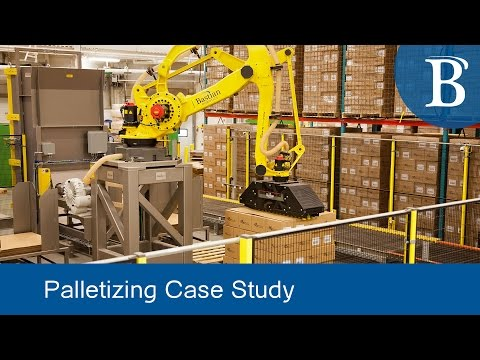 Inside the Robotic Palletizing System at Molnlycke Health Care