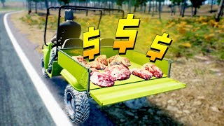 Meat is MONEY How to Make Early Cash - Ranch Simulator Gameplay / Early Access