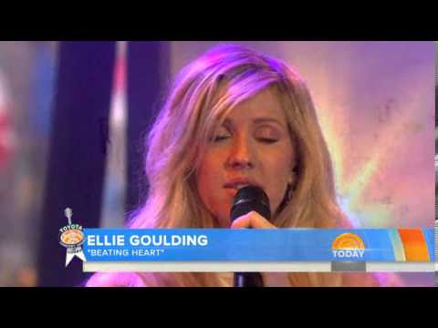 Ellie Goulding - Beating Heart (Live on TODAY Show)