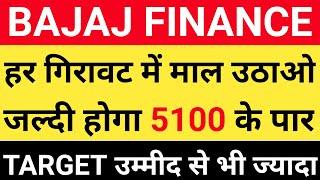 Bajaj Finance के शानदार Targets | Bajaj Finance latest news | Bajaj finance Multibagger sha