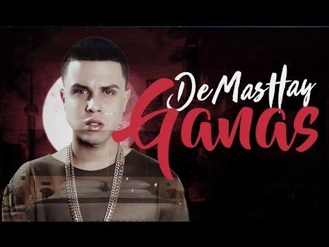 Darkiel- De Mas Hay Ganas (Official Lyric Video)