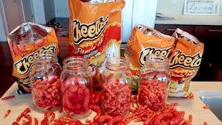 How To Make Hot Cheetos Shots