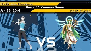 [Ultimate] Xeno145 (Pools A2 Winners Semis) - Ho3K John Numbers vs Ho3K Frozen