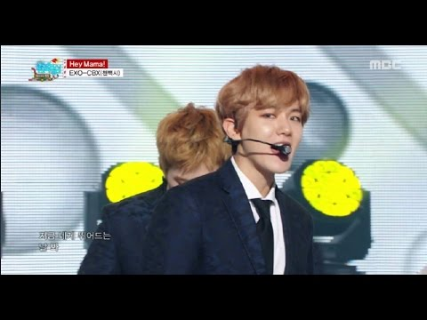 [HOT] EXO-CBX - Hey Mama!, 첸백시 - 헤이 마마! Show Music core 20161224