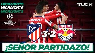 Highlights | Atlético Madrid 3-2 Salzburgo | Champions League 2020/21 - J2 | TUDN