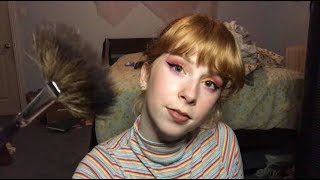 (ASMR RP) Sunset Makeup Tutorial for ME and YOU! ⛅️