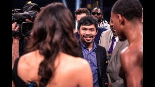 Manny Pacquiao NOT INTIMIDATED By Errol Spence Jr Power, Says He Reminds Of Ledwaba