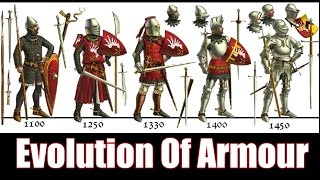 The Evolution Of Knightly Armour - 1066 - 1485