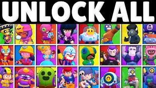 Unlocking EVERY Brawler & Rating Them!   Unlock Tier List!