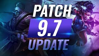 NEW UPDATE: Best Champions TIER LIST - League of Legends Patch 9.7 - YouTube