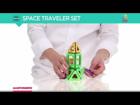 Magformers Space traveller Set 35