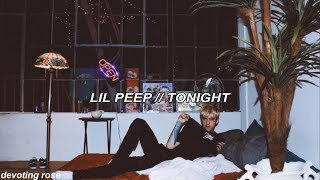 ☆ lil peep ☆  // tonight lyrics