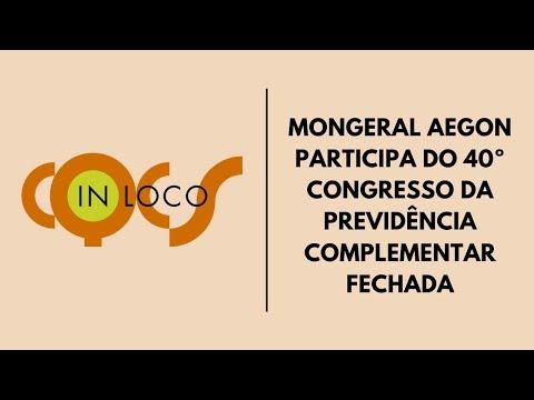 Imagem post: Mongeral Aegon participa do 40ºCongresso da Previdência Complementar Fechada