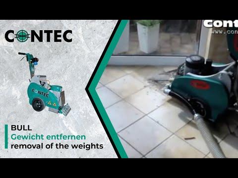 contec bull fliesen entfernen removing ceramic tiles. Black Bedroom Furniture Sets. Home Design Ideas