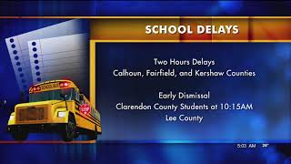 Closings and Delays Due to Midlands WX
