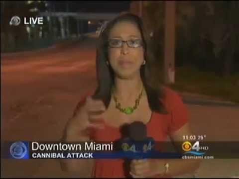 Miami cannibal attack