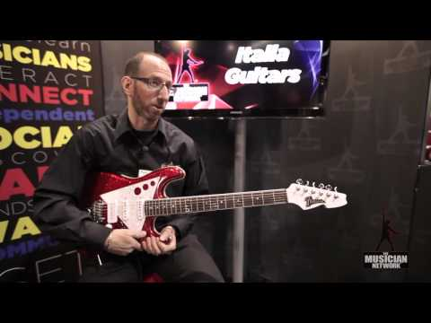 Italia Guitars: NAMM 2012 Product Showcase