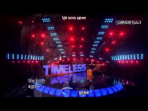 Xiah Junsu & Jang Ri In - Timeless LIVE [eng sub + roman]