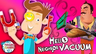 HELLO NEIGHBOR HAS A Vacuum?? FUNnel Boy vs. Suction Powered Mart! (FB Gaming #7)