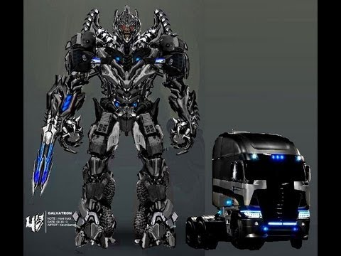 YES !! Galvatron in 'Transformers 4 - A.O.E.' by ... Freightliner Argosy Galvatron