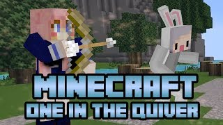 ONE IN THE QUIVER | Minecraft Mini Game | With Luciee and Adam