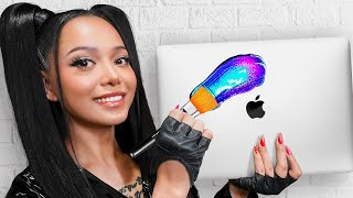 I Surprised Bella Poarch With 20 Custom Macbooks