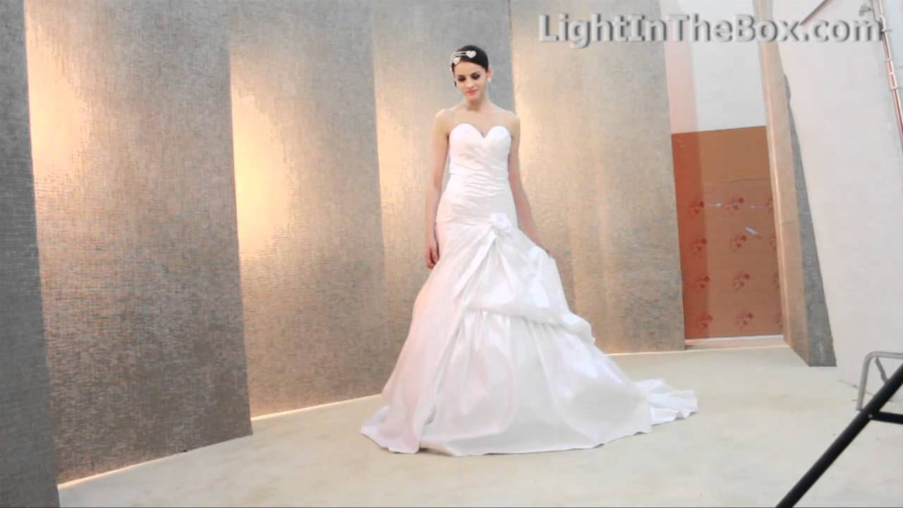 LightInTheBox gorgeous Wedding Dresses, be a Beautiful Bride - YouTube