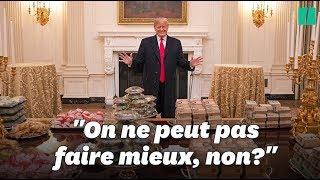 Donald Trump était vraiment fier de son buffet de fast food
