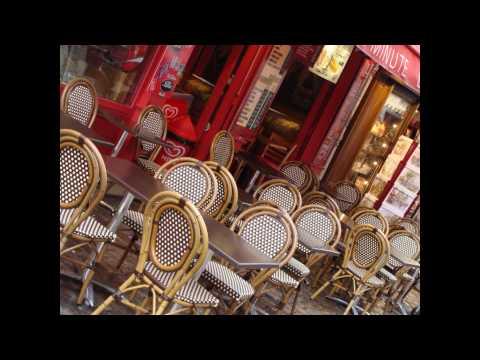CHARLES AZNAVOUR : LA BOHEMIA de PARIS en español / Música romántica francesa antigua
