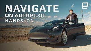 Tesla's Navigate on Autopilot Hands-On: Road trip to CES 2019!