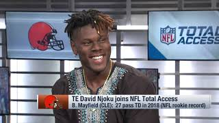 David Njoku reveals question he 'keeps hearing' as Browns enter camp