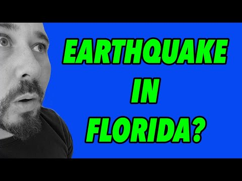 MYSTERIOUS Earthquake In South Florida! #2021-13