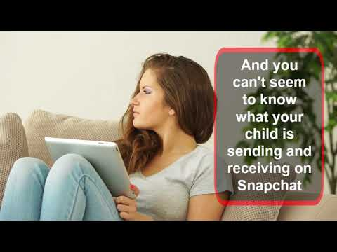 Monitor Snapchat – Protect Your Child from Online Threats