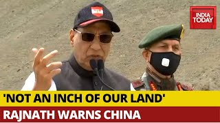 No power in the world can take an inch of our land: Rajnat..