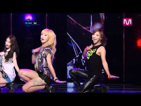 f(x)_Electric Shock(Electric Shock by f(x) @Mcountdown 2012.07.05)