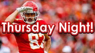 DraftKings Picks Week 15 NFL Thursday Night Football TNF Showdown