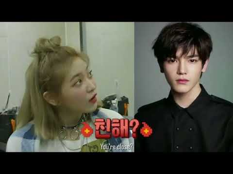 Heechul mention about Taeyong to Yeri