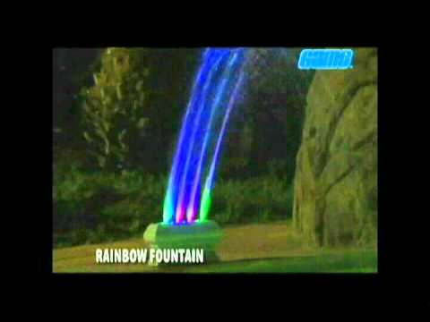 Rainbow Fountain and Light from Game-Group - AmeriMerc.com