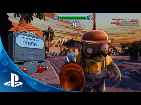 Plants vs. Zombies Garden Warfare | PS3™ - PlayStation® Trailer