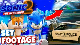 Sonic Movie 2 (2022) Set FOOTAGE + New Details