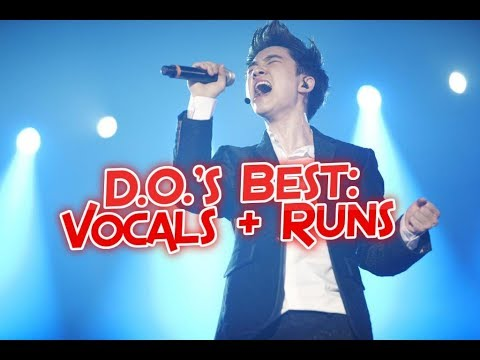 EXO D.O. (Kyungsoo) Best High Notes / Vocals + Runs - Supported Vocal Range | 엑소 - 디오 : 고음모음 + 애드립들