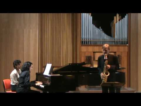 DEBUSSY Rhapsody for sax and piano